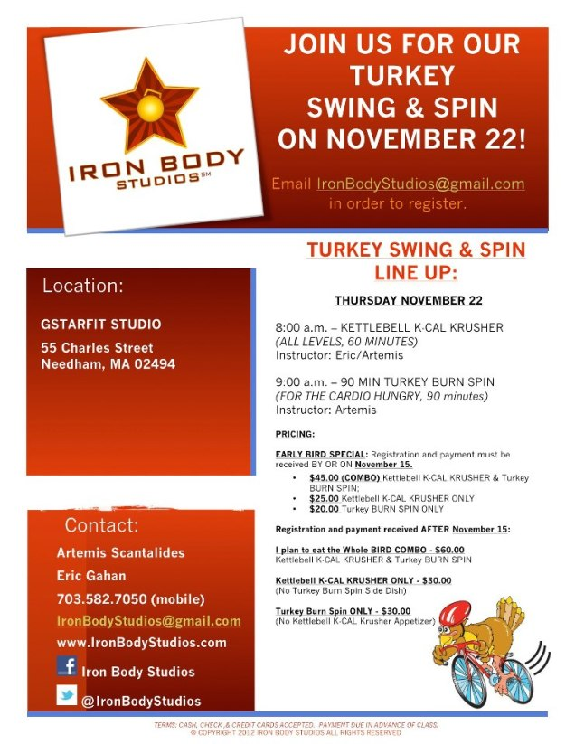 Turkey Swing Flyer 2012