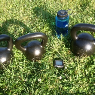 Kettlebells at the Park