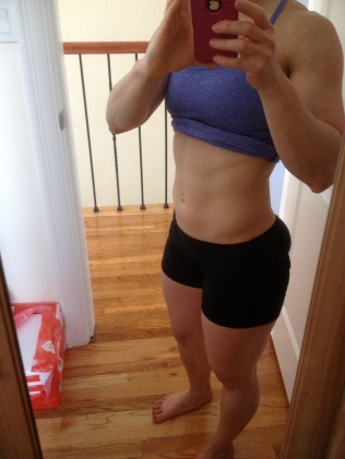 My abs, Age 37, June 2013