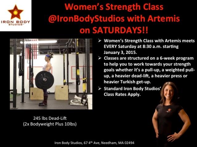 Women's Strength 245lbs DL