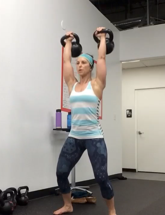 The Training Skillet Double Kettlebell Clean Amp Jerk