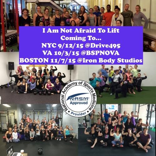 Lift NYC VA Boston 2015 NASM