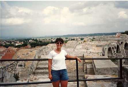 Artemis at age 20 in 1996 studying abroad in Aix-En-Provence, France.