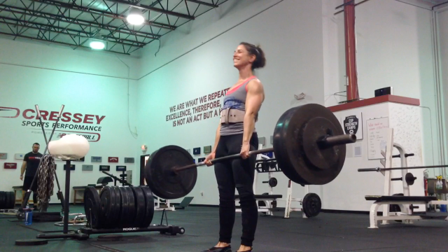 Artemis Scantalides, 275lbs Deadlift, November 5, 2015