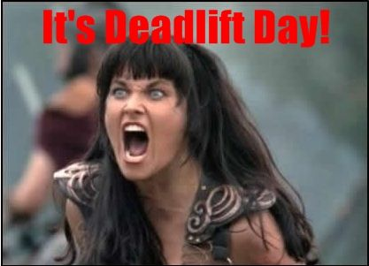 Xena Deadlifts